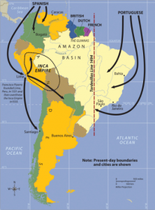 colonies-south-america